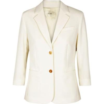ザ ロウ THE ROW レディース スーツ・ジャケット アウター Schoolboy Ivory Wool-Blend Blazer White