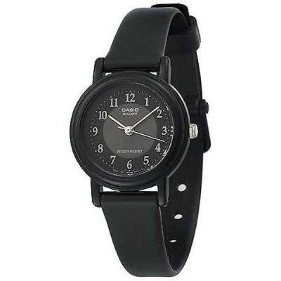 腕時計 カシオ Casio LQ139A-1B3 レディース レジン バンド クラシック ブラック Easy Reader ダイヤル アナログ 腕時計