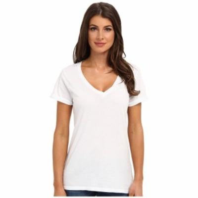 ラメイド LAmade レディース Tシャツ トップス Staple V S/S Tee White