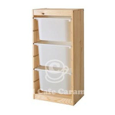 【IKEAイケア】トロファストTROFAST収納コンビネーション, ホワイト, パイン材(39873001)-11