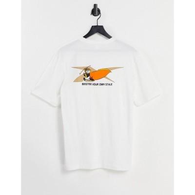 リーボック Reebok メンズ Tシャツ トップス Classics x Kung Fu Panda t-shirt in white ホワイト