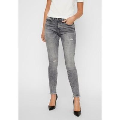 ノイジーメイ レディース デニムパンツ ボトムス NMLUCY - Jeans Skinny Fit - light grey denim light grey denim
