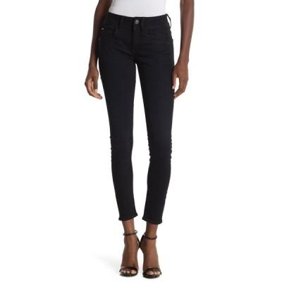 ジースター レディース デニムパンツ ボトムス Lynn Mid Skinny Jeans DK AGED RINSED