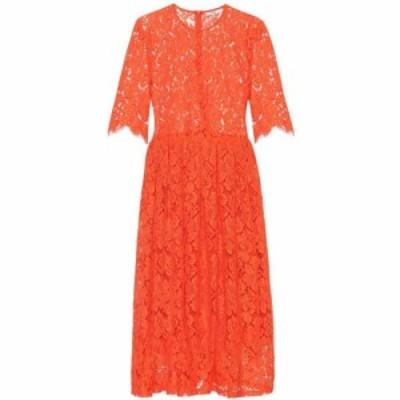 ガニー Ganni レディース ワンピース ワンピース・ドレス Jerome lace dress Big Apple Red