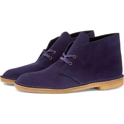 クラークス Clarks Originals メンズ ブーツ シューズ・靴 desert boot Deep Purple