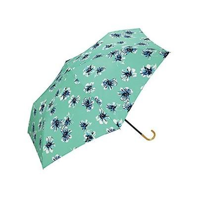 ワールドパーティー(Wpc.) 日傘 折りたたみ傘  グリーン 緑  50cm  レディース 傘袋付き ブルーム ミニ 804-018 GR