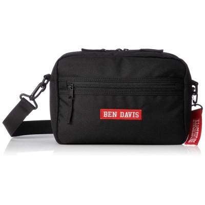 [ベンデイビス] ショルダーバッグ BOXロゴテープショルダーバッグ BDW-9308 BLACKxRED