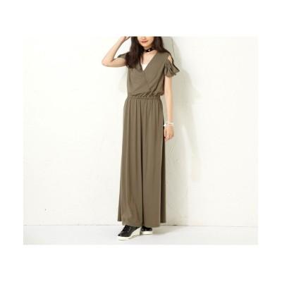 大きいサイズ カシュクールワンピース(スマイルガール) ,スマイルランド, ワンピース, plus size dress
