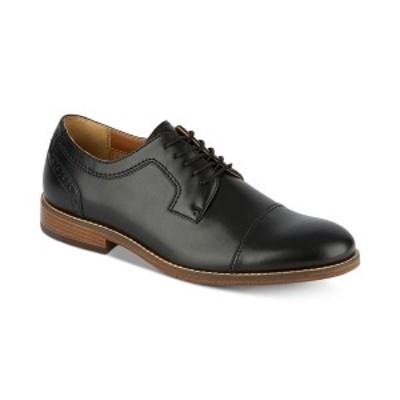 ドッカーズ メンズ ドレスシューズ シューズ Men's Rhodes Leather Cap-Toe Oxfords Black