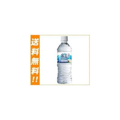 送料無料 永伸商事 大山山麓天然水 結(ゆいのみず) 500mlペットボトル×24本入