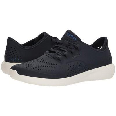 クロックス LiteRide Pacer メンズ スニーカー 靴 シューズ Navy/White