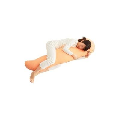 忠岡町 ふるさと納税 不思議な抱き枕 FEEL抱き枕 145cm(オレンジ)