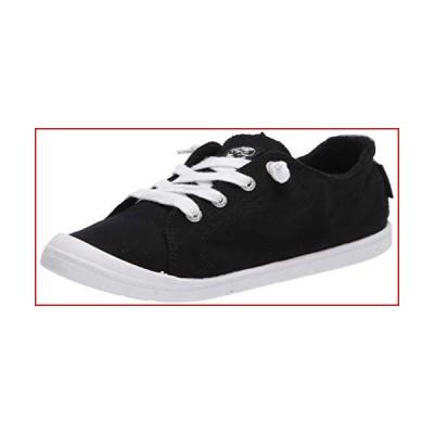 Roxy Women's Bayshore Slip on Shoe Sneaker, Black/Anthracite 20, 8 M US【並行輸入品】