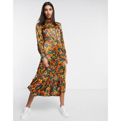 ゴースト Ghost レディース ワンピース ワンピース・ドレス London Midaxi Dress In Floral Print マルチカラー