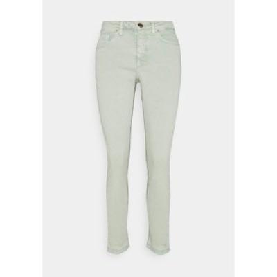 オーパス レディース デニムパンツ ボトムス ELMA COLORED - Jeans Skinny Fit - pistachio pistachio