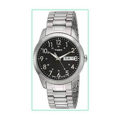 Timex Mens Silver-tone Classic Dress Watch【並行輸入品】