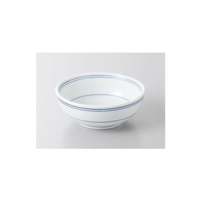 とんすい 玉割 小鉢 内外紺線 和食器 業務用 美濃焼 9a235-24-52g