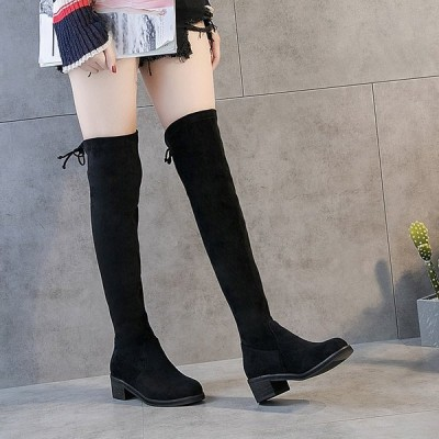 レディースブーツ ニーハイブーツ パンプス 痛くない 歩きやすい 美脚 歩き疲れない抜群の安定感 ローヒール ハイヒール フィット レディース靴 人気単品