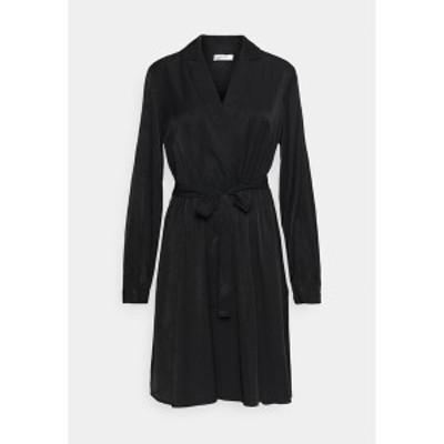 モス コペンハーゲン レディース ワンピース トップス NILLE DRESS - Day dress - black black