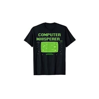 コンピュータ ウィスパラー コーダー コンピュータ オタク オタク コーディング おかしい Tシャツ