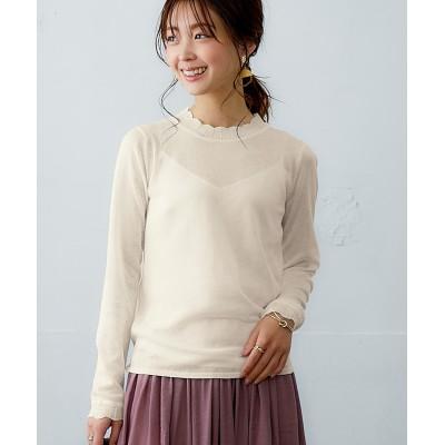 インナーニット(薄手素材) (ニット・セーター)(レディース)Knitting, Sweater,