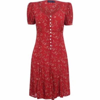 ラルフ ローレン Polo Ralph Lauren レディース ワンピース ワンピース・ドレス Polo Prntdfloral Drs Tender Red