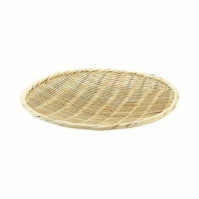 エムテートリマツ 萬)15-805竹製盆ザル33cm*