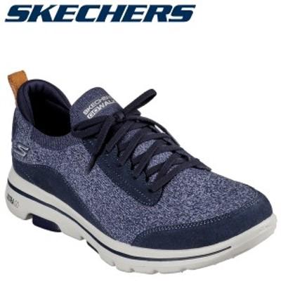 スケッチャーズ SKECHERS ゴーウォーク 5 スニーカー メンズ GO WALK 5 RHYTHMS ネイビー 216044