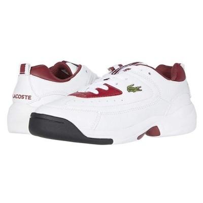 ラコステ V-Ultra Og 120 1 メンズ スニーカー 靴 シューズ Dark Red/White