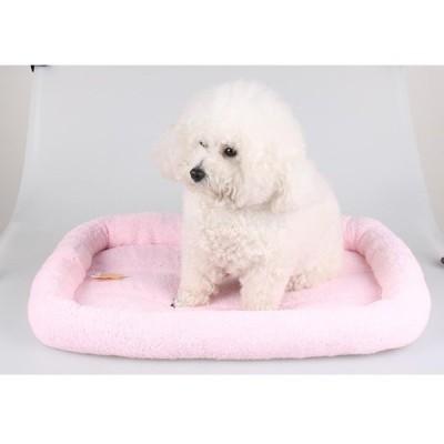 全4色3サイズ 犬 猫 柔らかい マット ソファ クッション 高品質   - ピンク, S