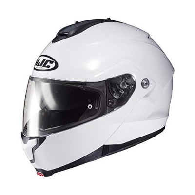 HJC Helmets C91 メンズ ストリートバイクヘルメット - ホワイト/XL並行輸入品