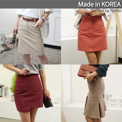 SK34-[@@NEMO]大絶賛レビュー必見! セレブスタイル高級スカート特集 最高級品質の極! 韓国生産 ペンシルスカート 新作 女子力UP 信じられない驚きの大特価