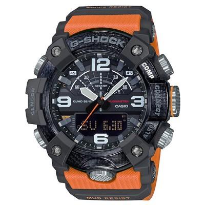 G-SHOCK Gショック マスターオブG MUDMASTER マッドマスター スマートフォンリンク カシオ CASIO アナデジ 腕時計 オレンジ GG-B100-1A9JF 国内正規モデル