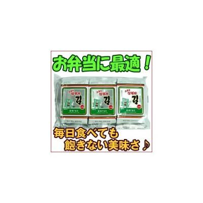 韓国のり ホンヘ サンブザ お弁当用海苔 (1袋/3P入り)