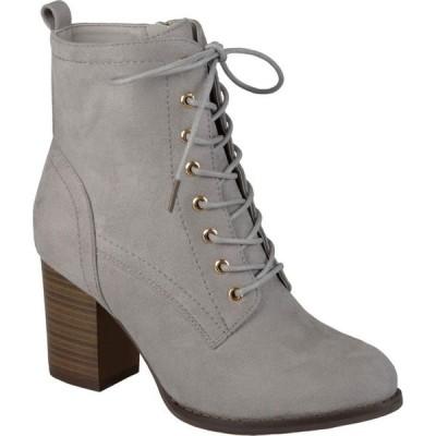ジュルネ コレクション Journee Collection レディース ブーツ シューズ・靴 Baylor Bootie Grey