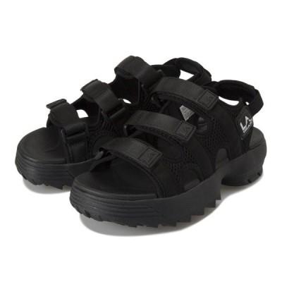 LAGEAR エルエーギア Platform Sandals LA026 BLACK