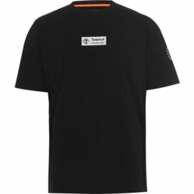 ティンバーランド Timberland メンズ Tシャツ トップス Short Sleeve Statement T Shirt Black