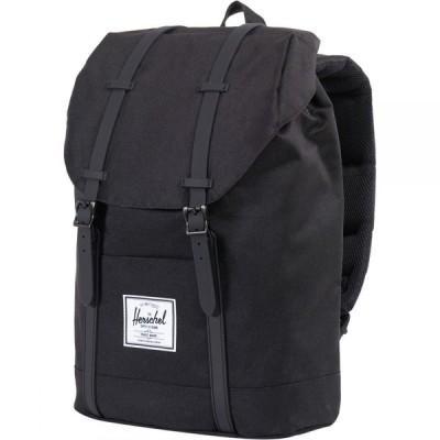 ハーシェル サプライ Herschel Supply ユニセックス バックパック・リュック バッグ Retreat 19.5L Backpack Black/Black