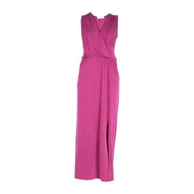 ANNA RACHELE ロングワンピース&ドレス モーブ 40 キュプラ 92% / ポリウレタン 8% ロングワンピース&ドレス