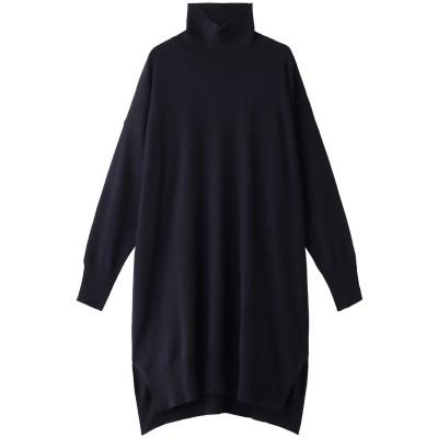 DEMYLEE デミリー 【PERMANENT COLLECTION】ELIZA カシミヤハイネックニットドレス レディース ネイビー S
