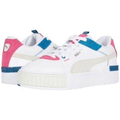 PUMA プーマ レディース 女性用 シューズ 靴 スニーカー 運動靴 Cali Sport Mix Puma White/Vaporous Gray/Digi Blue【送料無料】