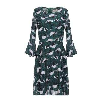 LOUXURY ミニワンピース&ドレス グリーン L ポリエステル 100% ミニワンピース&ドレス