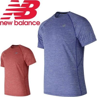 半袖 Tシャツ メンズ ニューバランス NEWBALANCE スポーツウェア トレーニング ランニング 男性 シンプル/AMT81095【取寄】【返品不可】