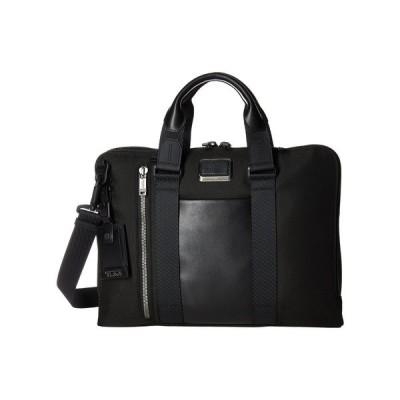 トゥミ Tumi メンズ ビジネスバッグ・ブリーフケース バッグ Alpha Bravo Aviano Leather Slim Brief Black