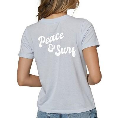 オニール レディース Tシャツ トップス Peace Surf Graphic Tee