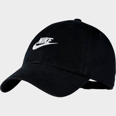 ナイキ メンズ キャップ Nike Heritage86 Future Washed Adjustable Back Hat 帽子 Black/White
