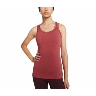 ナイキ レディース シャツ トップス Nike Women's Get Fit Tank Training Top Cedar