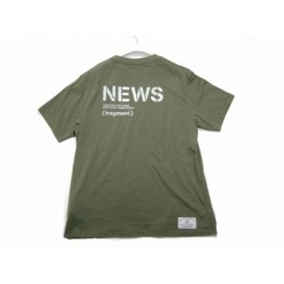 MONCLER/モンクレール/GENIUS/ジーニアス/MAGLIA T-SHIRT/NEWSロゴ Tシャツ/TEE/FRAGMENT HIROSHI FUJIWARA/フラグメント/藤原ヒロシ/メ