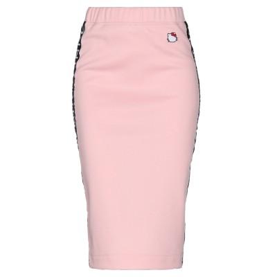 ピンコ PINKO 7分丈スカート ピンク S ポリエステル 55% / コットン 45% 7分丈スカート