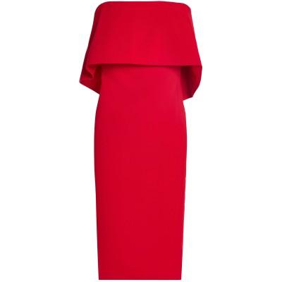 BADGLEY MISCHKA ミニワンピース&ドレス レッド 2 ポリエステル 98% / ポリウレタン 2% ミニワンピース&ドレス